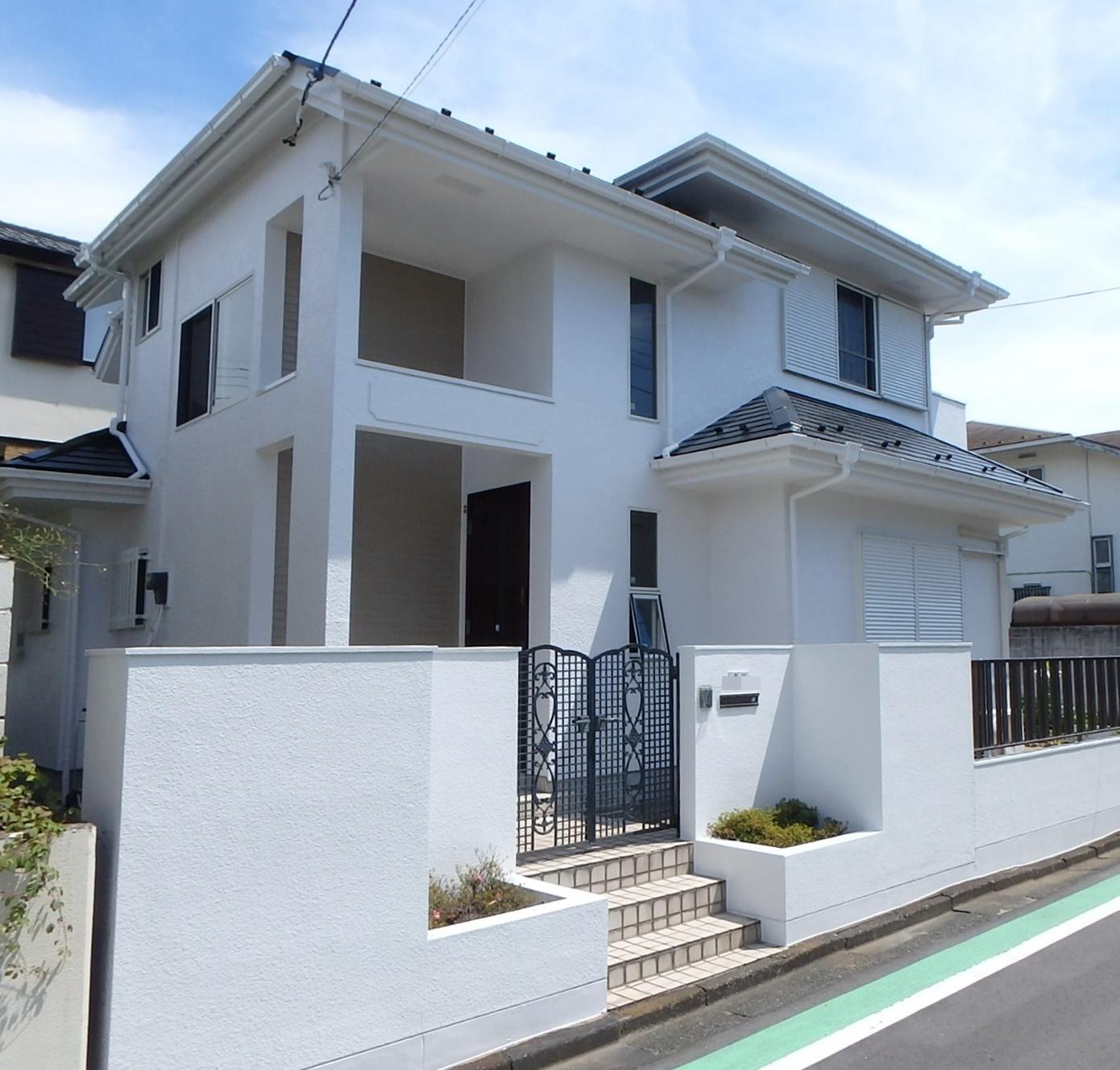 横浜 戸塚区戸建住宅 外壁塗装屋根葺き替え 完成写真